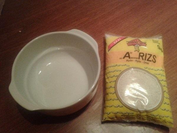 Rizs, víz és hőálló főzőedény