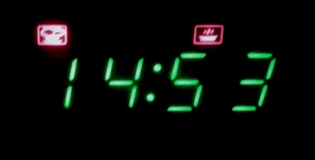 15 perc a mikrohullámú sűtőben