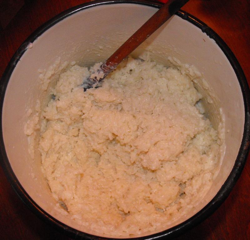 A puhára főzött rizs