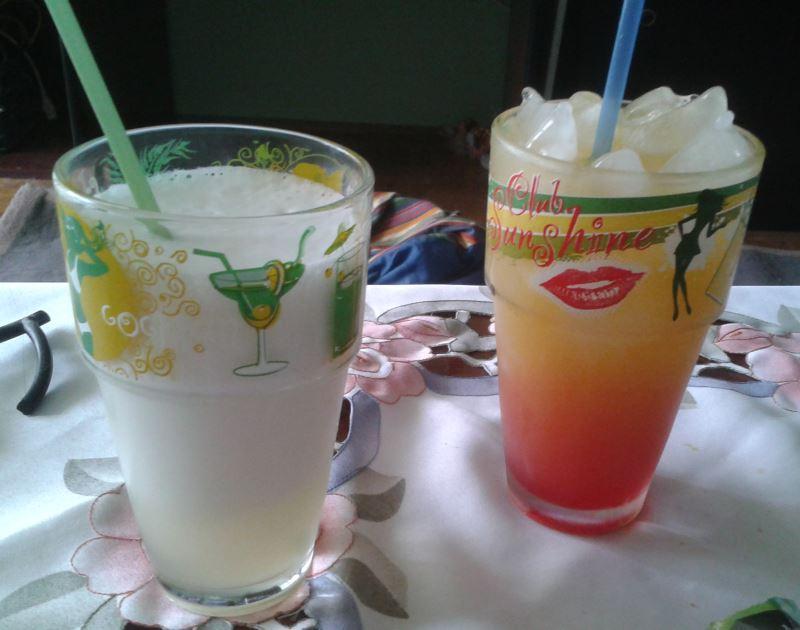 Pina Colada és Tequila Sunrise
