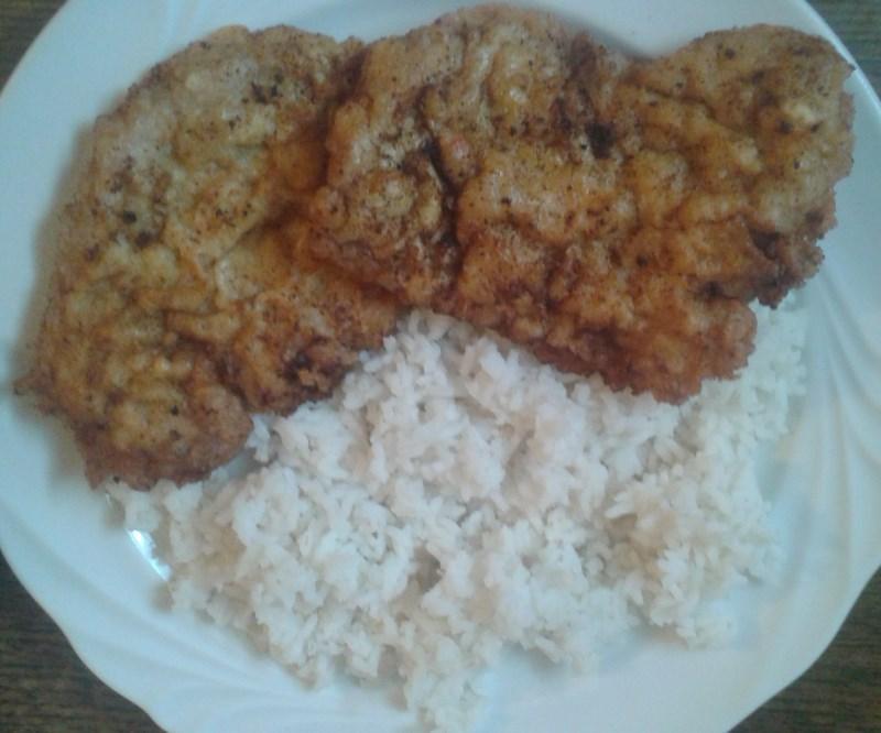 Sörbundás hús rizzsel