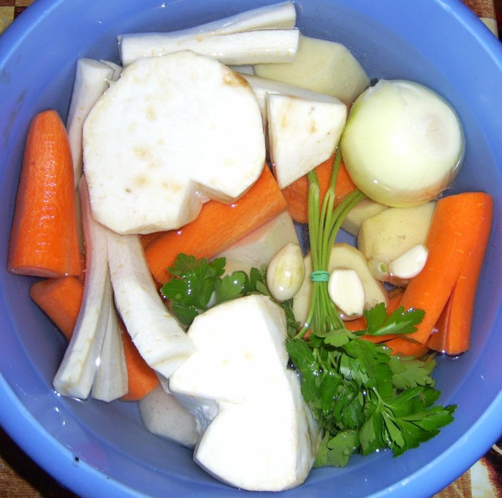 Egy tál leveszöldség
