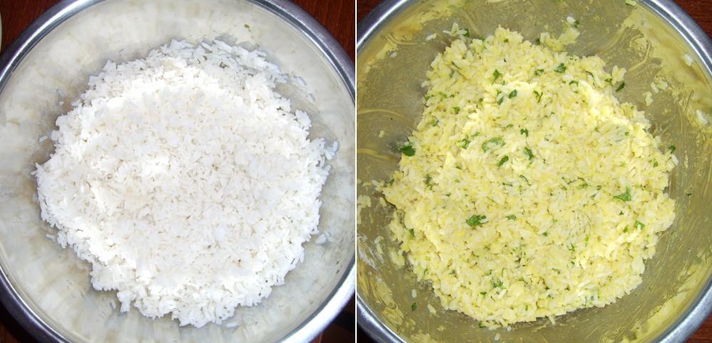 Fűszeres főtt rizs
