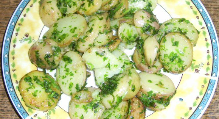 Petrezselymes újkrumpli