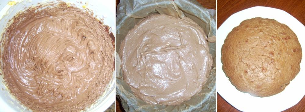 A Sacher-torta készítésének lépéseii