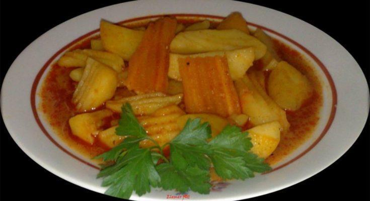 Egy tál árva paprikás krumpli