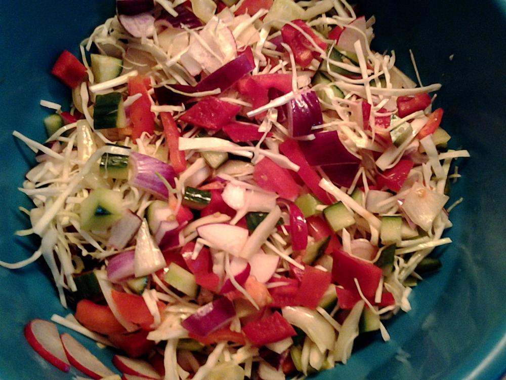 Zöldségek a gyors tálhoz