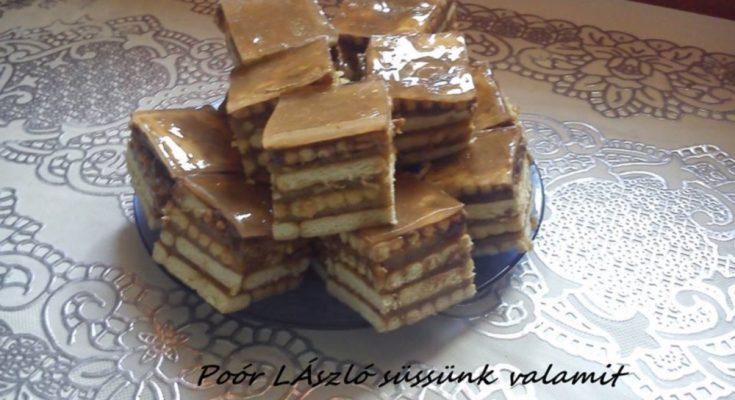 Karamellás keksz