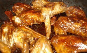 Adobo csirkeszárnyak