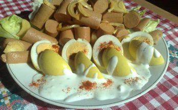 Pácolt ecetes tojás