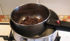Forró csokoládé készítése