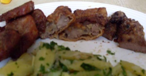 Pácolt hús petrezselymes burgonyával