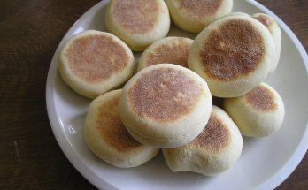 Frissen sült angol muffin