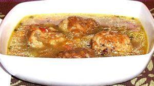 Egy tányér albondigas leves