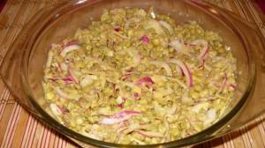 Egy tál lencse saláta